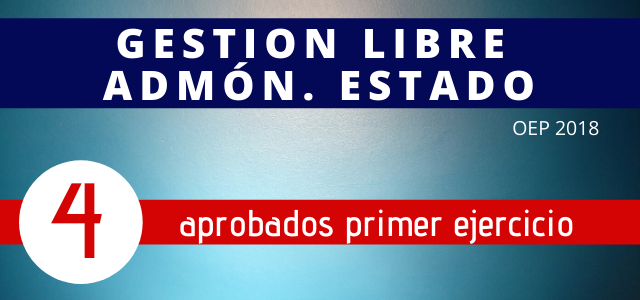 Aprobados Gestion Estado 1 Libre